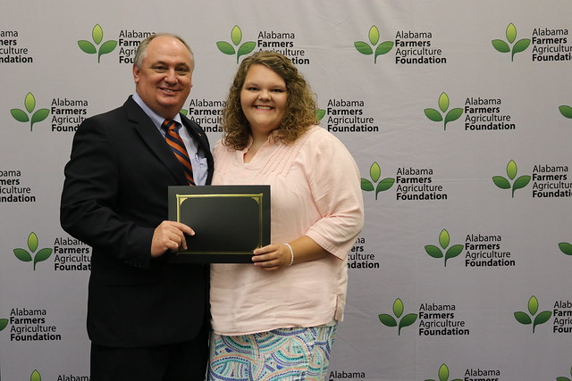 MORGAN COUNTY STUDENT RECEIVES $1,750 AGRICULTURE FOUNDATION SCHOLARSHIP