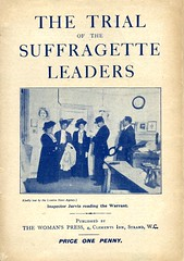 Cover of Suffragette pamphlet