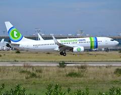 F-GZHN, Boeing 737-85H(WL), 29445/186, Transavia France, ORY/LFPO, short finals to runway 08/26.