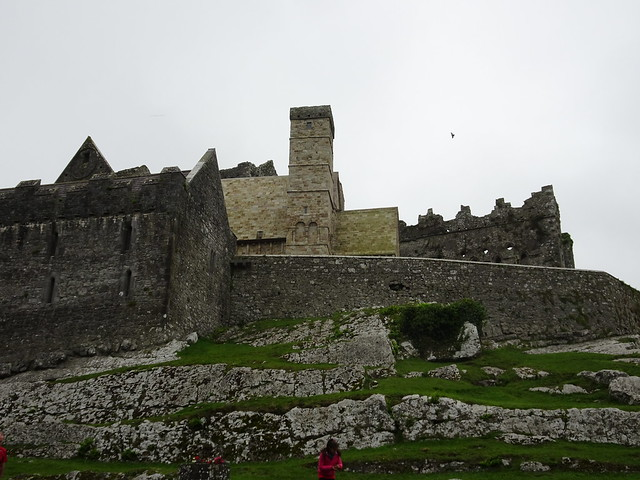 Looking Up to the Rock of Cashel