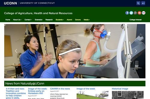 New CAHNR website