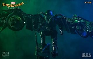 Iron Studios Battle Diorama 系列 蜘蛛人:返校日【禿鷹】Spider-Man: Homecoming Vulture 1/10 比例決鬥場景作品