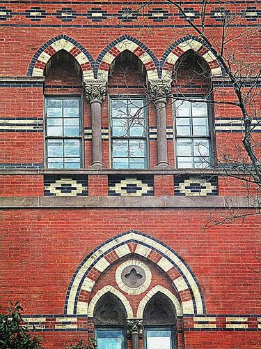 Sage Hall arches