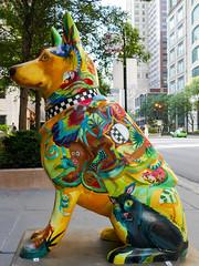 K9s for Cops Public Art Campaign - ? by Sandie Bacon