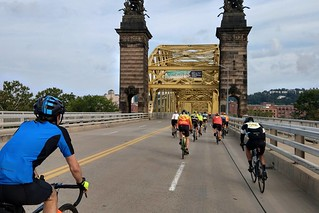 Crossing the 16th Street Bridge