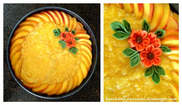 Honey-Peach Cheesecake