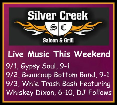 Silver Creek Poster 9-1-17