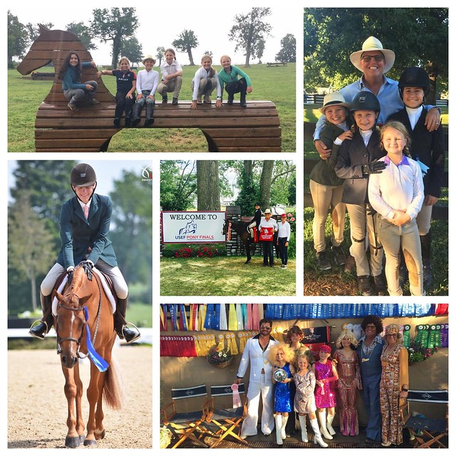 Success at 2017 Pony Finals for the Over the Hill Farm Team!