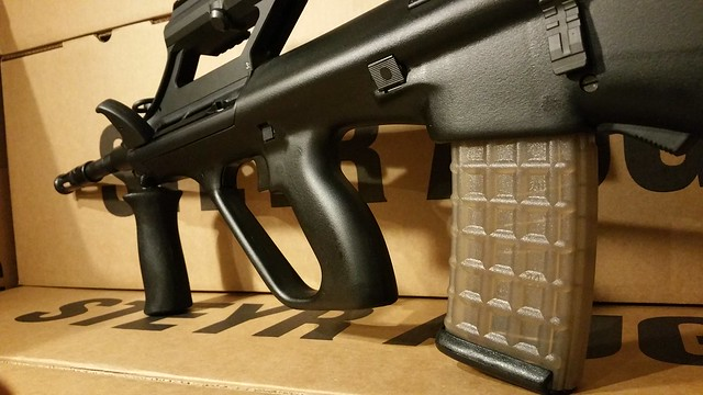 Steyr AUG 16 inch Black www.USAFIREARMS.COM
