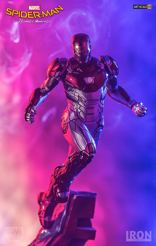 Iron Studios Battle Diorama 系列 蜘蛛人:返校日【鋼鐵人馬克47】Spider-Man: Homecoming Iron Man Mark XLVII 1/10 比例決鬥場景作品