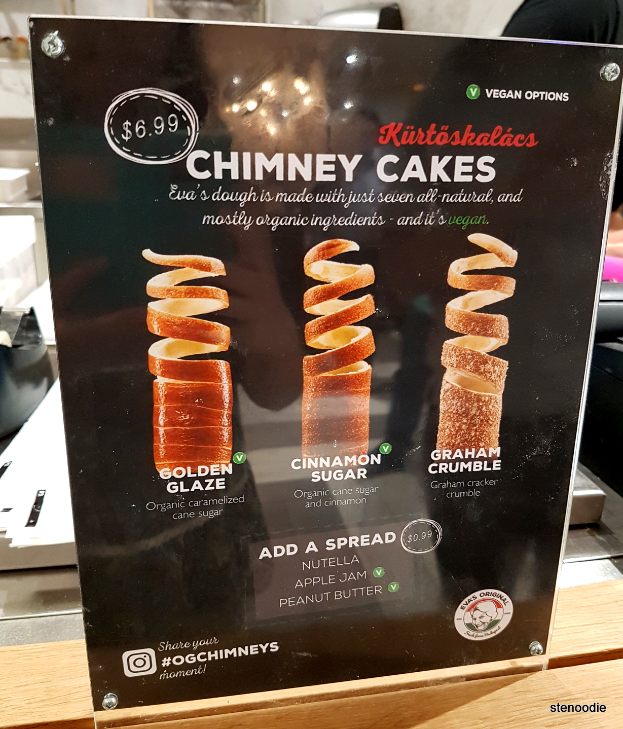 chimney cakes poster