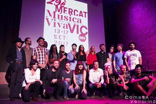Presentación Mercat de Música Viva de Vic