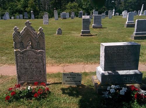 Graves of MacNeills #pei #princeedwardisland #cavendish #cavendishcemetery #lmmontgomery #macneill #grave #latergram