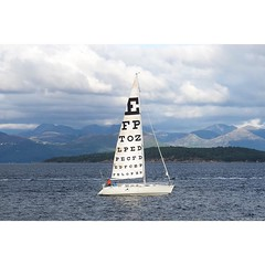 A beauty cup day yes test ones sight! . Igor Ponosov's eye test on the water in #Stavanger #Norway for @nuartfestival. . #wallkandy #nuartaberdeen2017 #art #sailing #sail #yacht #fb #f #t #p