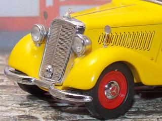 Mercedes Benz 170V Kastenwagen - 1952  - Schuco