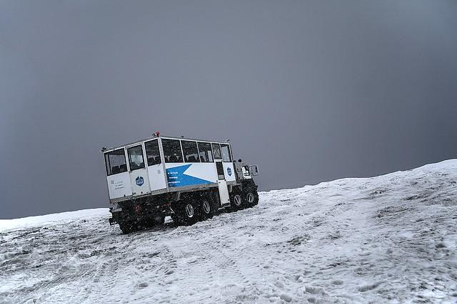 Into The Glacier Bus