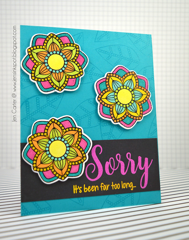 Jen Carter Sorry Grateful Florals 1