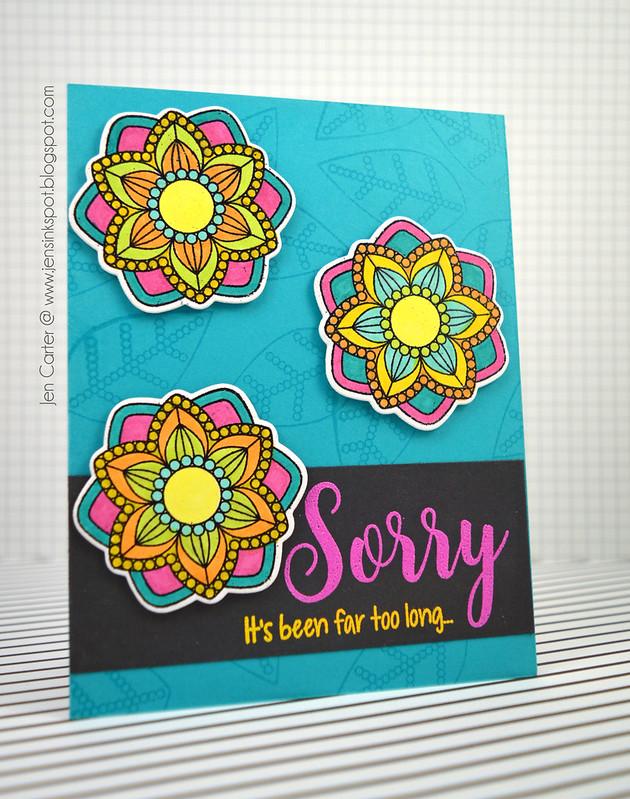 Jen Carter Sorry Grateful Florals 1