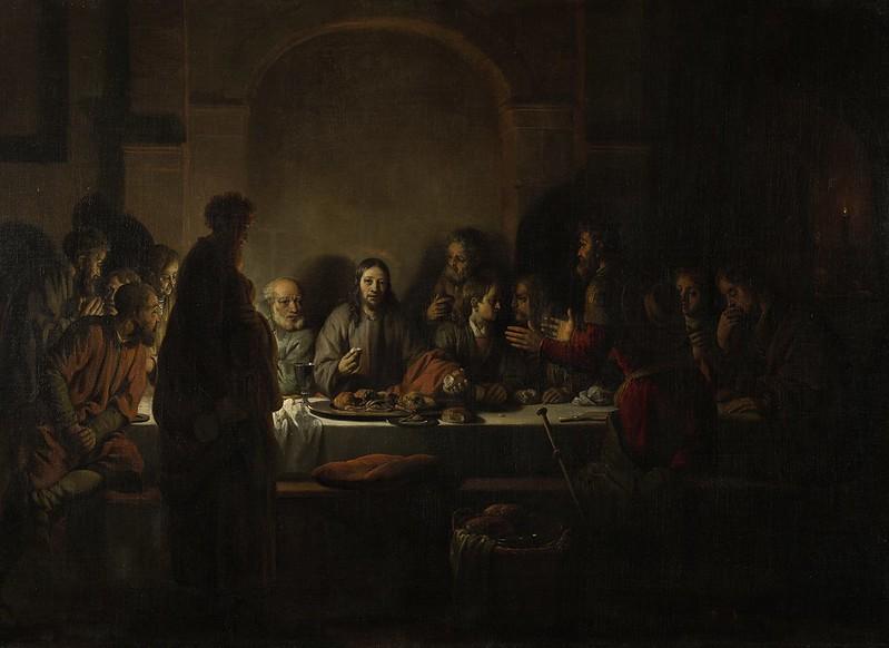 Gerbrand van den Eeckhout - Het laatste avondmaal (1664)