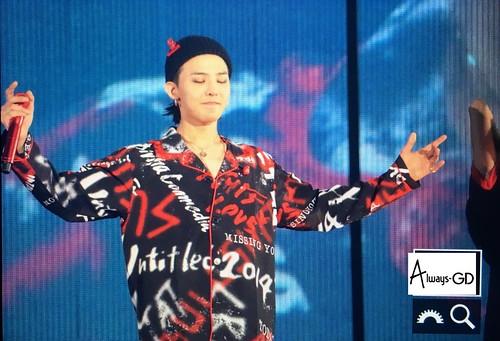 G-Dragon  MOTTE in Tokyo Day 1