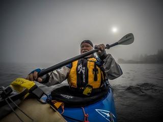 Samish Island Paddling in Fog-4