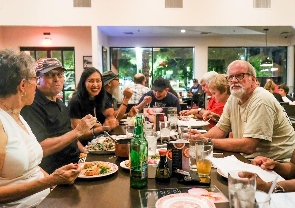 2017-09-28 Club Dinner Meeting @ Flo's
