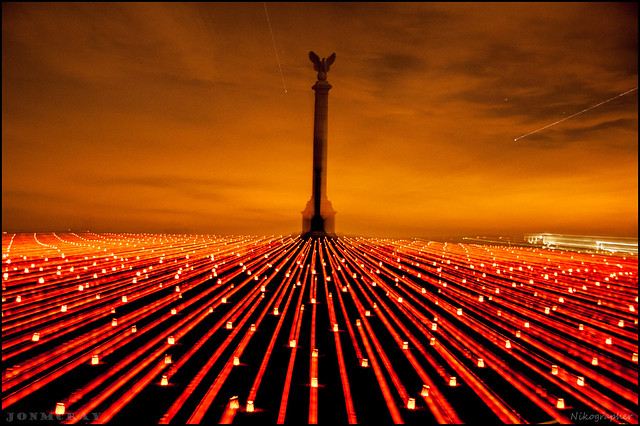 The Memorial Illumination - Battle of Antietam