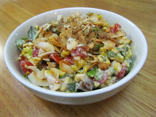 East West Roasted Corn Salad