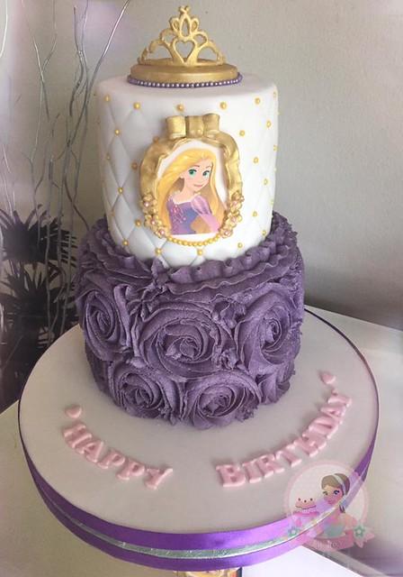 Rapunzel Themed Cake by Lou Lous