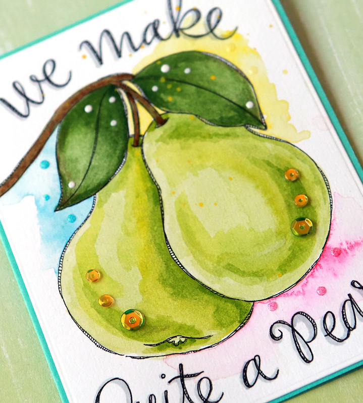 pear close up