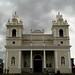 Fachada principal, Iglesia Nuestra Señora de la Soledad av.2a-4, c.9-11/ Main facade, Our Lady of Solitude Church 2a-4th av., 9th-11th st.