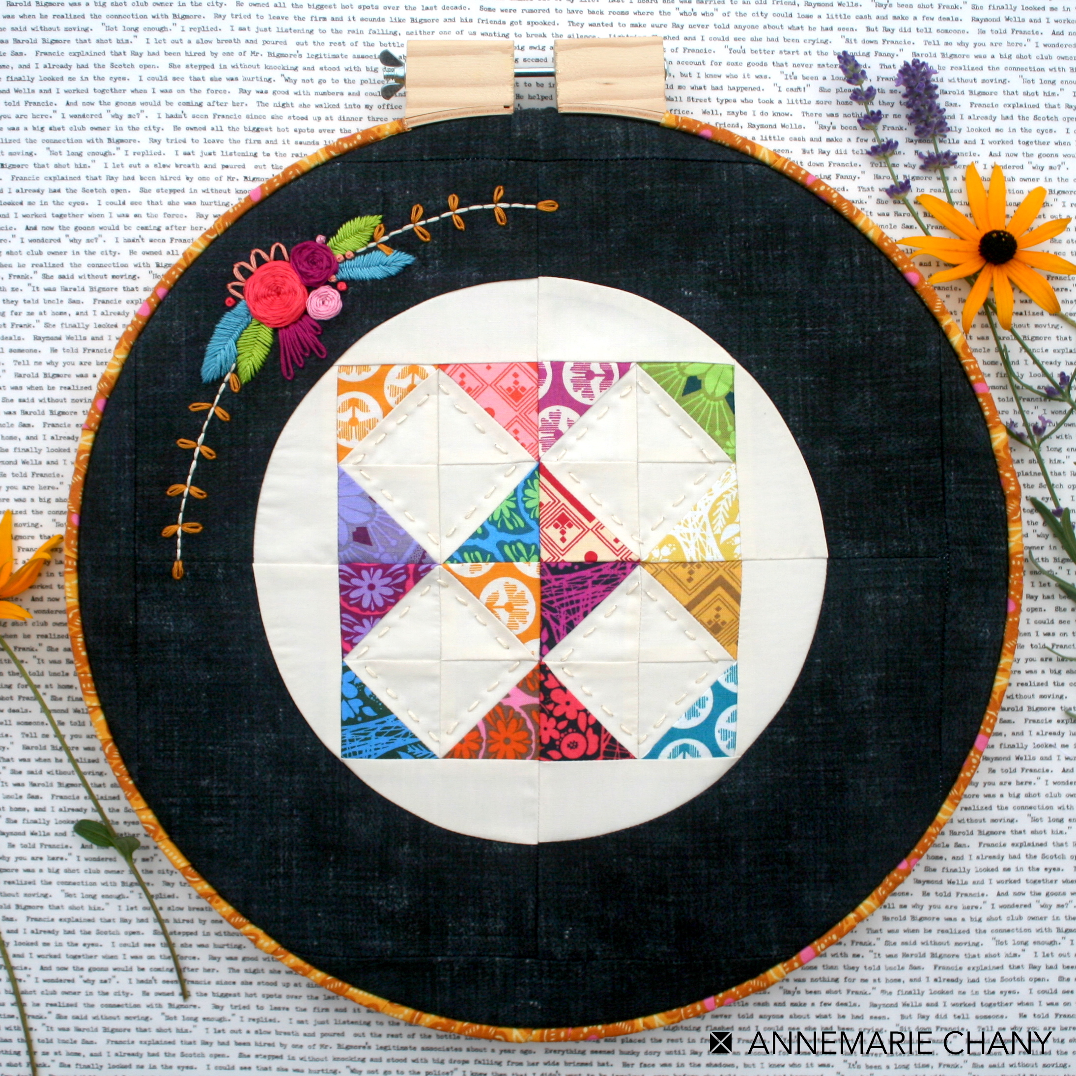 HOOP QUILTS FINISH Square Photo