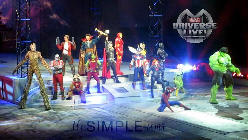 marvel univiverse live super heroes