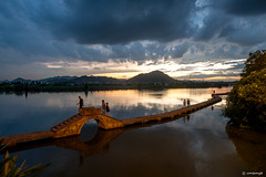 Jian lake.
