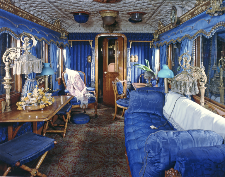 Queen Victoria's Saloon. Credit National Railway Museum