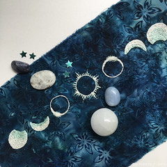 Free Solar Eclipse Embroidery Pattern!