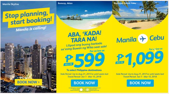 Aba' Kada Tara Na Cebu Pacific Air Promo