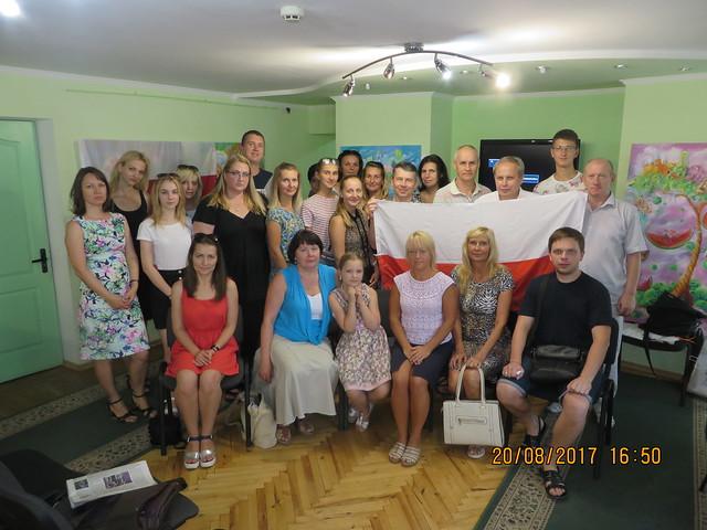 20 sierpnia 2017 Uroczyte spotkanie TKP w Sumach z okazji Roku Rzeki Wisła w Biliotece im T. Szewczenko