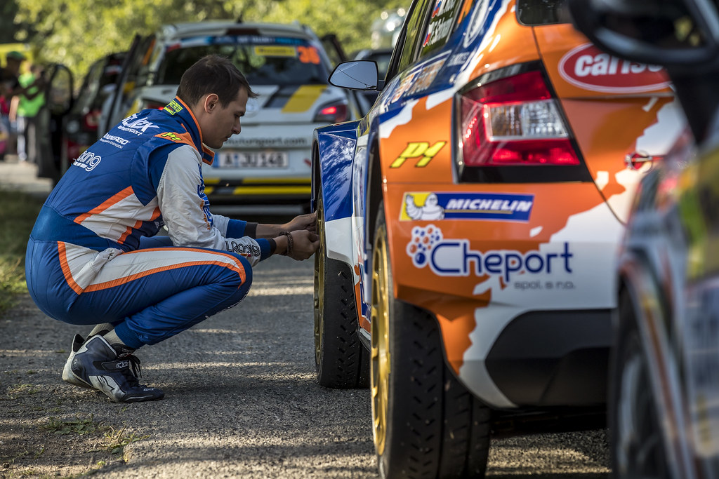 KOCI Martin (SVK) SCHOVANEK Filip (CZE) Skoda Fabia R5 ambiance portrait during the 2017 European Rally Championship ERC Barum rally,  from August 25 to 27, at Zlin, Czech Republic - Photo Gregory Lenormand / DPPI