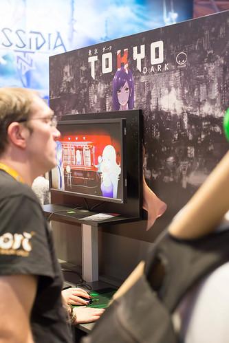 Messestand von Tokyo Dark bei der Gamescom 2017