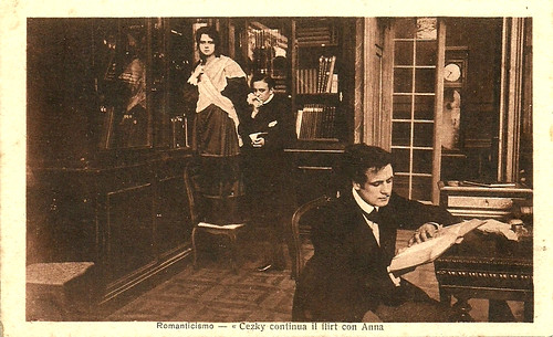 Helena Makowska and Tullio Carminati in Romanticismo (1915)