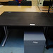 Stained oak desk 1200c800 desk E110