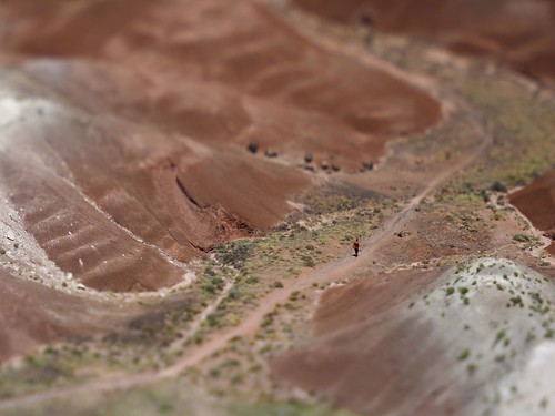 Painted Desert National Park - toy effect (lensbaby)