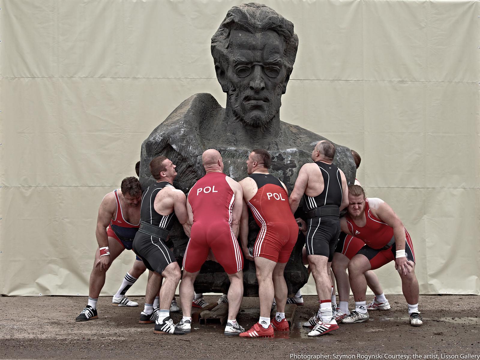 クリスチャン・ヤンコフスキー《重量級の歴史》2013