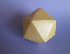 John Montroll's Icosahedron