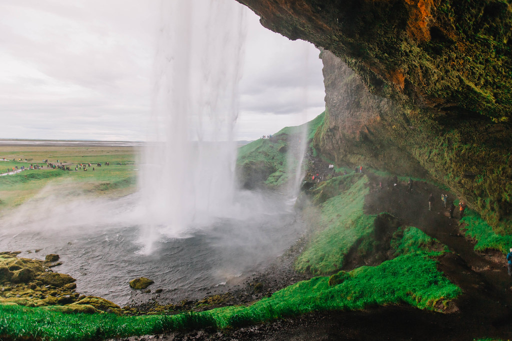matkablogi Seljalandfoss Islanti