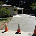 Old Concrete Driveway Replaced In Vacaville