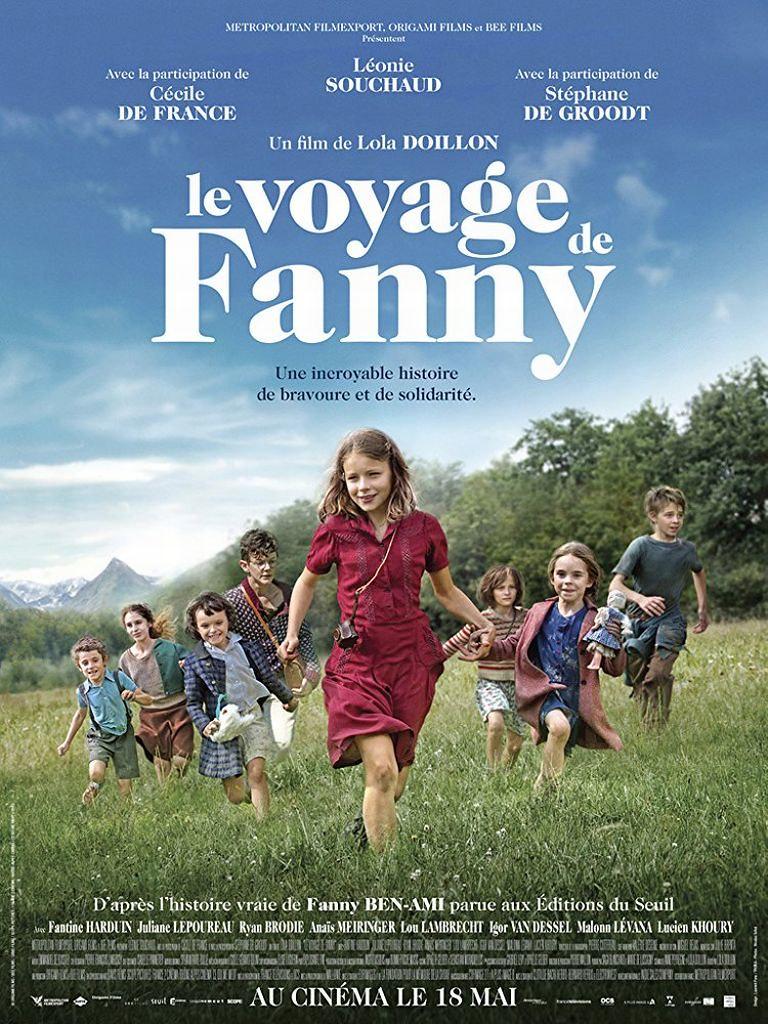 少女ファニーと運命の旅のポスター
