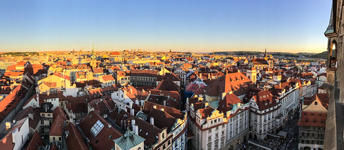 Prague Panorama from Old Town Hall