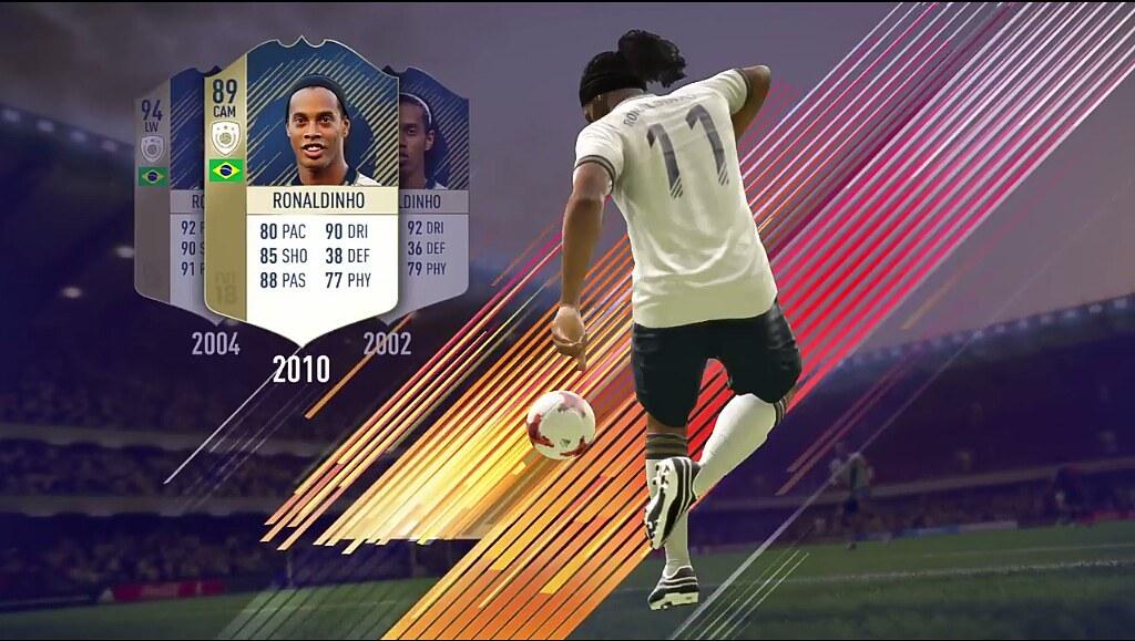 FIFA 18 Ronaldinho Icon Card